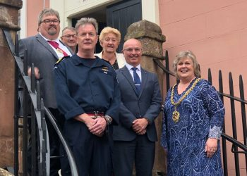 Second Sea Lord visit to Carlisle