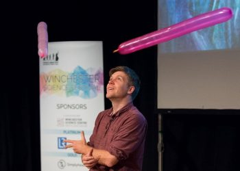 Simon Watt will bring his Ready, Steady Science Show to Cumbria. Picture: Dave Hughes