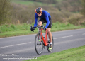 Local hill climb specialist Martin Mikkelsen-Barron won VCC's Whinlatter Hill Climb, their final club time trial of the year.