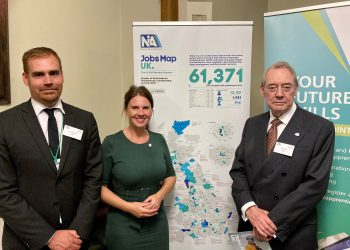 Trudy Harrison met a range of apprentices and graduates at theNuclear Skills and Apprenticeship Fair, held as part of this week's Nuclear Week in Parliament.
