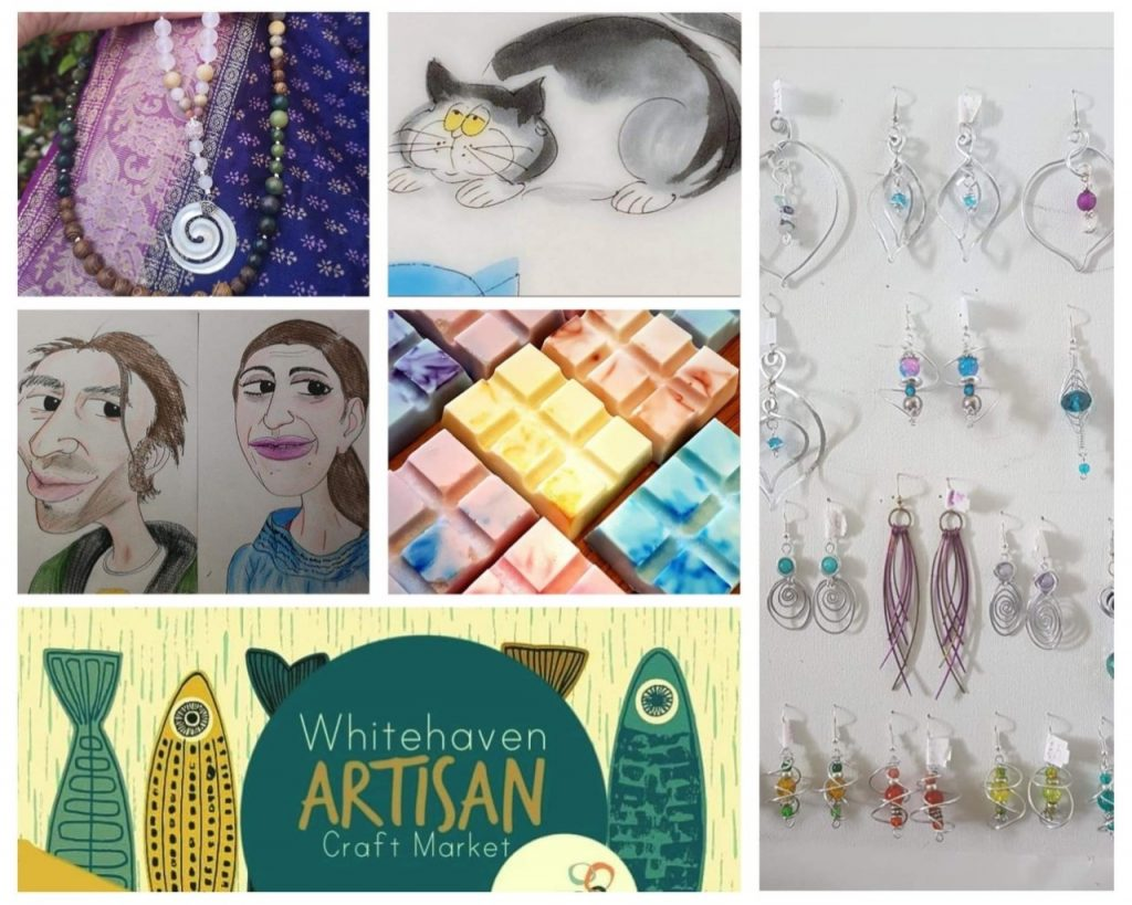 An artisan craft market is set to take place in Whitehaven.
