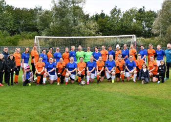 Allerdale Wildcats and the Blue Devils. Picture: Ben Challis