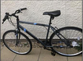 Police are investigating the theft of a bicycle in Carlisle.