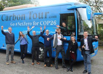 Zero carbon tour stops off in Burneside