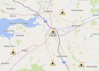 Carlisle flood alert latest