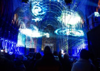 City of Lights 2020 at Carlisle Cathedral by D&H Photography