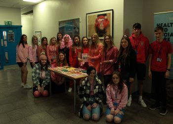 Lakes College T Level Health and second year Nurse Cadet Students have raised a massive £485 for Breast Cancer Care