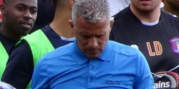Keith Curle before Carlisle United's match against York City's at Bootham Crescent, York on 19 September 2015. Picture: Mattythewhite