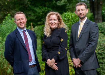 Mark Jackson, Katherine Pretswell-Walker and Jonathan Carroll