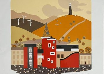 Ulverston by Patrick Tate. one of the artworks on sale at Artworks - Art4All