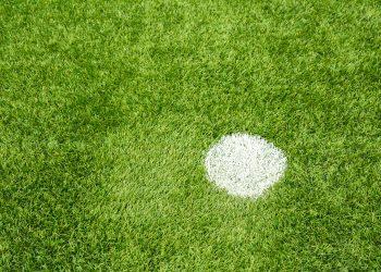 Penalty spot in football
