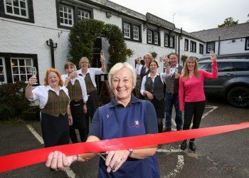 Pheasant Inn reopening by Gillian Gaston