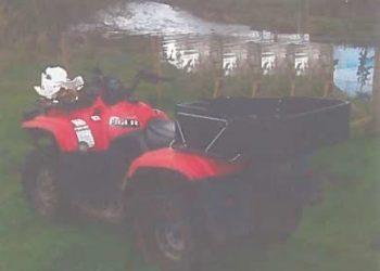 Quad bike taken from farm in Brampton