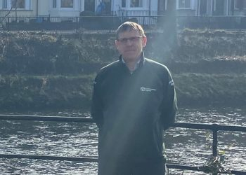 Stewart Mounsey EA Flood Risk Manager for Cumbria