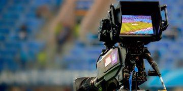 Football TV cameras