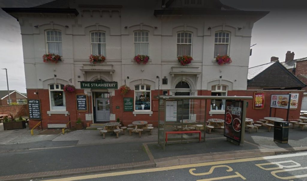 A teenager was assaulted by a group outside a Barrow pub.
