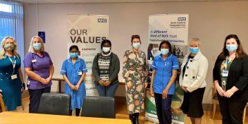 Trudy Harrison and international nurses