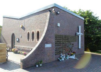 he Chapel of Remembrance at Distington Hall Crematorium