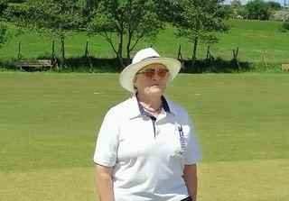 Umpire Mary Smith