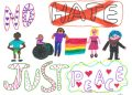 On Saturday hate crime awareness week started and schoolchildren across Cumbria have been sending in their artwork to help the force raise awareness.