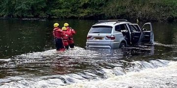 River rescue at Appleby