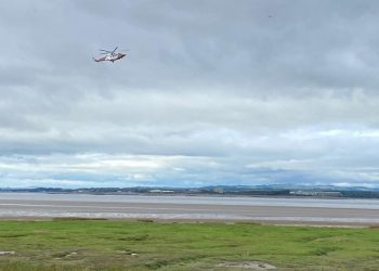 At approximately 2.30pm yesterday, appliances from Carlisle East, Wigton, and Workington, were mobilised to reports of a gentleman stuck up to his thighs in mud- with the tide rising, close to Port Carlisle.